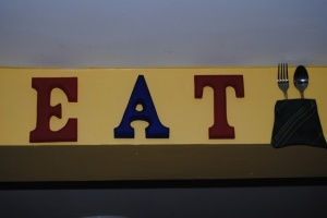 Retro Style EAT sign