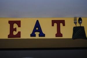 Retro Style EAT sign