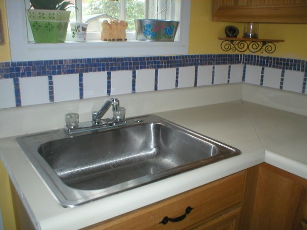DIY Kitchen Back Splash