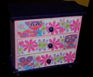 Abby Cadaby Girls Jewelry box