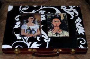 Frida Kahlo Decoupage Art Case