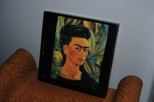 Frida Kahlo Decoupage Tray