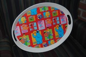 Sesame Street Cupcake tray