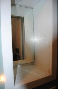built is wall vanity  before