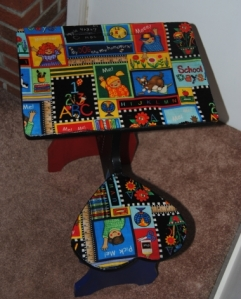 Upcycled Kids School Desk