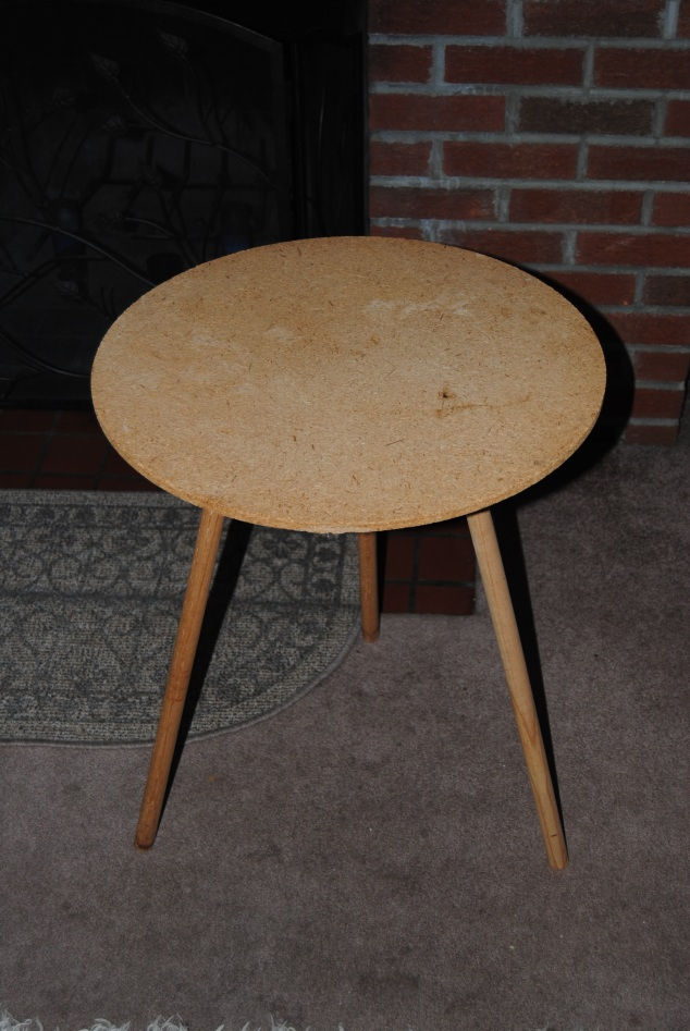 Round Wooden Table
