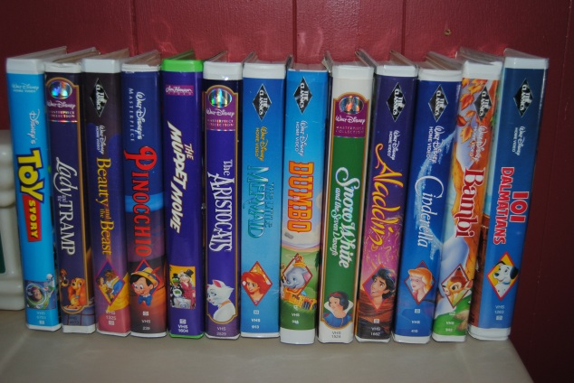 VHS Disney Movie Collection