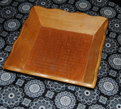 Little Wooden Tray