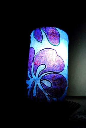 Upcycled Decorative Jar Lamp