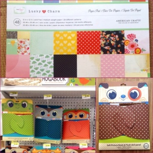 Scrapbook paper winner!