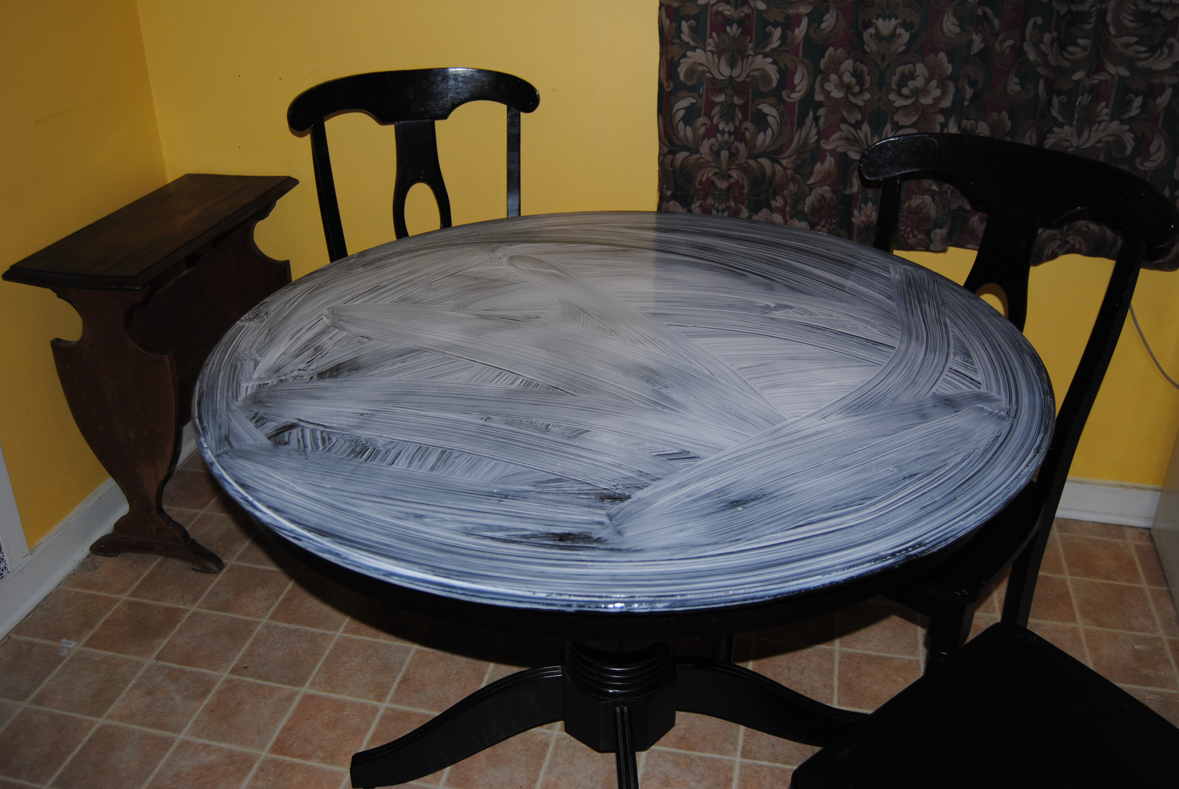 Kitchen Table Makeover A Much Needed Kitchen Table Makeover On The Upcycle Style On