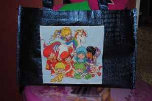 Rainbow Brite Decoupage Tote bag
