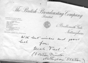 Early BBC Document