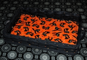 Halloween Tray made with Mod Podge