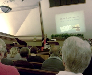 Lecture on Photo Preservation by Maureen Taylor