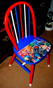 Super Hero Fan Chair