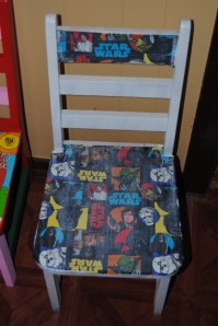 Decoupage Kids Chair