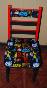 Star Wars Fabric Decoupage Kids Chair