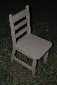 Thrift Store Kids Chair