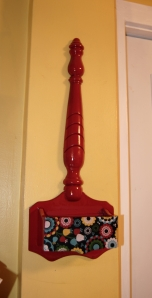 Upcycled Kitchen Wall Hanging and Storage