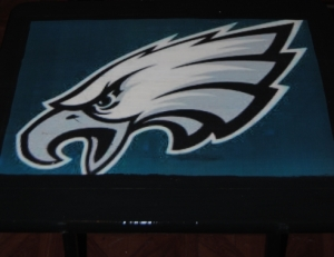 philadelphia eagles tv tray