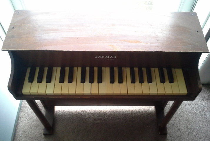 Play It Again Kid Upcycled Vintage Jaymar Kids Piano On The Upcycle