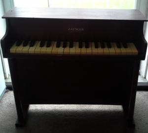 Vintage Kids Jaymar Piano Est 1960's