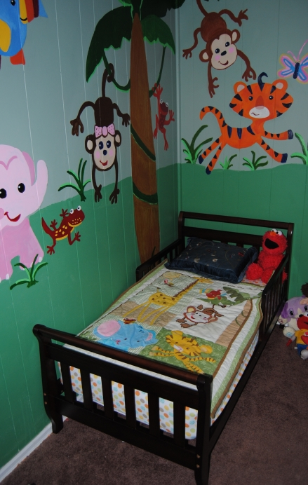 Crib Rail Repurpose Children S Book Wall Rack On The