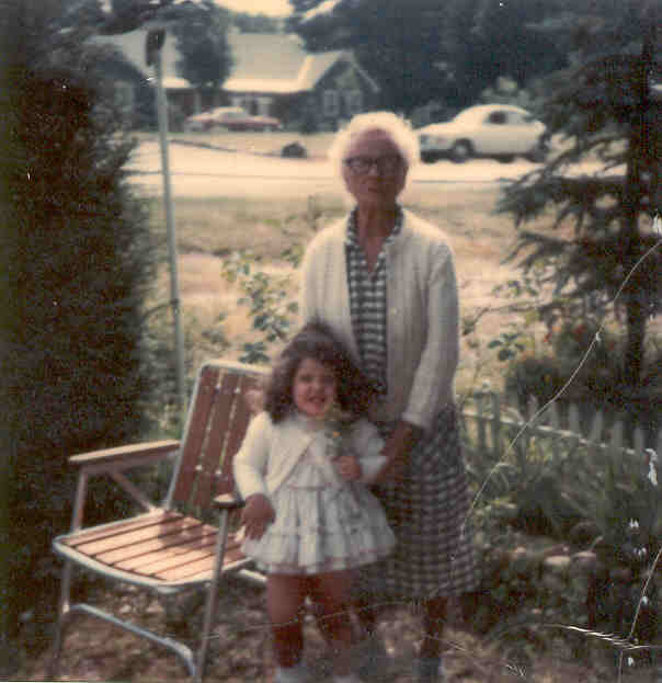 Danielle and Great Grandmother