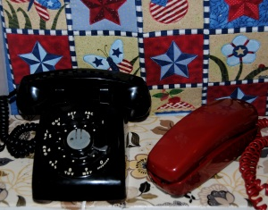 Western Electric  and Trimline Phones