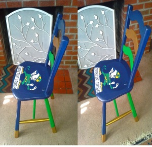 notre dame chair