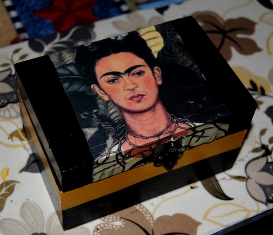 Fabulous Frida: Dollar Store Decoupage (5/6)