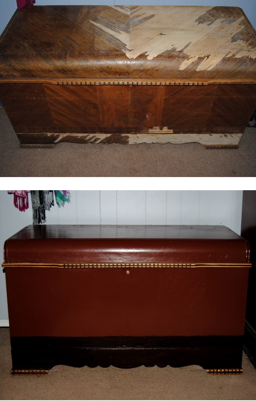 Refurbish Furniture And After Old