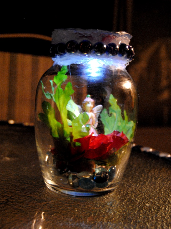Take These Broken Wings Fairy In A Jar Kids Craft On